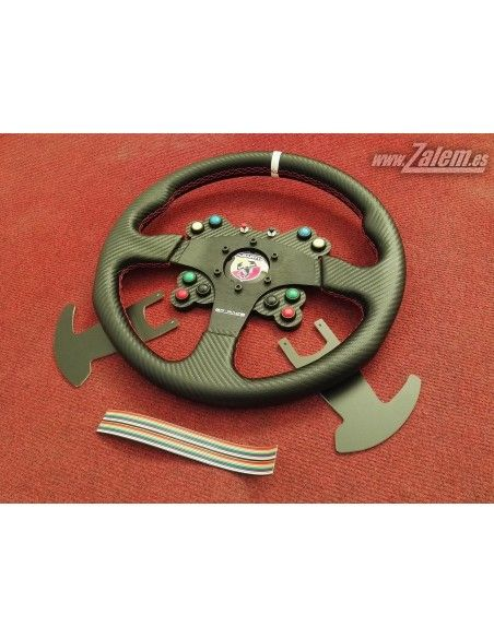 Real Steering wheel Panel with Logitech G29 Buttons