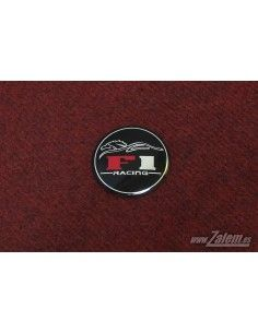 F1 Racing adhesive emblem / sticker
