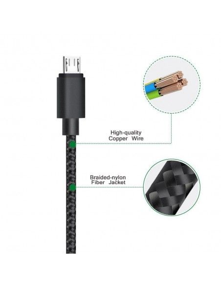 Cable USB a Micro USB HQ