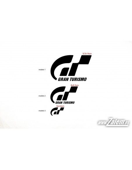 Decals / Stickers GRAN TURISMO