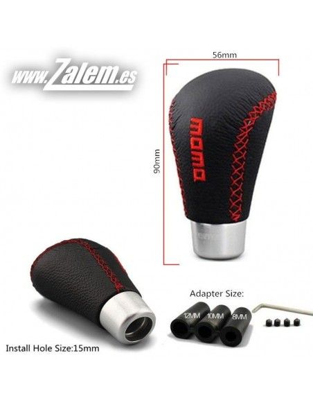 Momo red gear knob replica