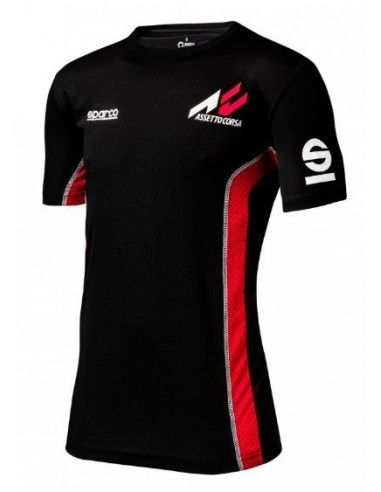 Camiseta Gaming Assetto Corsa y Sparco