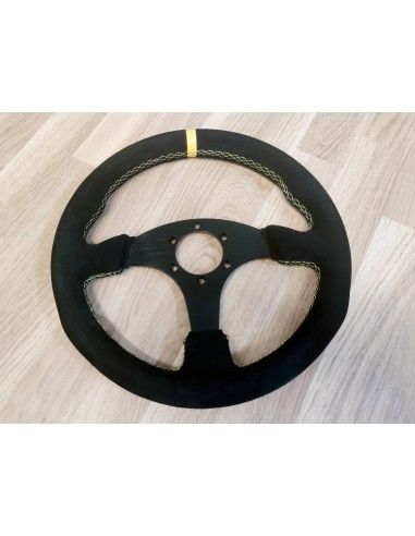 Steering wheel 330mm suede leather