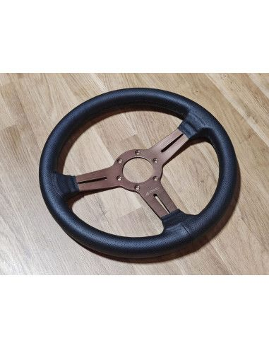 CLASSIC 330 perforated leather steering wheel