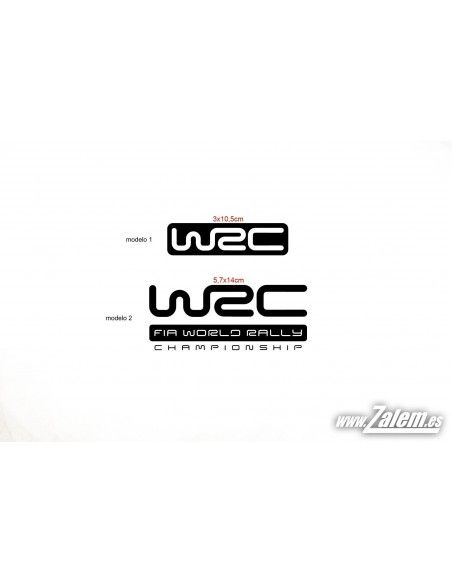 Decals / Stickers WRC