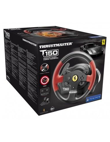 thrustmaster t150 ferrari edition. Black Bedroom Furniture Sets. Home Design Ideas