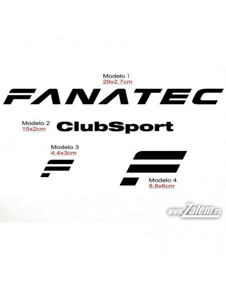 Decals / Stickers FANATEC
